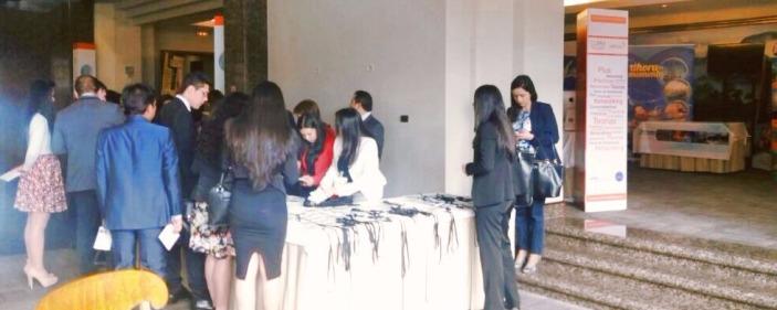 Acreditaciones en Salón El Nogal de Bogotá