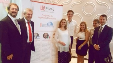 Elisa Piedrahita, Gabriel Holand y más profesionales que estuvieron presentandose en Unipiloto sede de Girardot