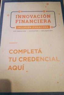Acreditación al evento presentación de Jornadas de Co creación de Innovación Financiera del BCRA