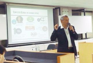 Gabriel Holand habla de Fintech: Productividad y Cambio en Universidad de Palermo