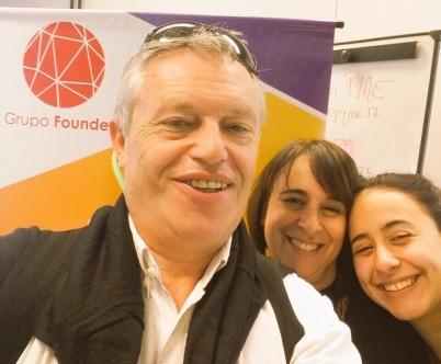 Gabriel Holand y el equipo de Grupo Founder
