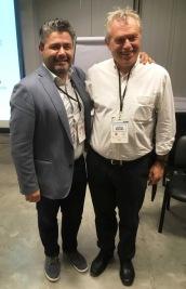 Alex Contreras y Gabriel Holand